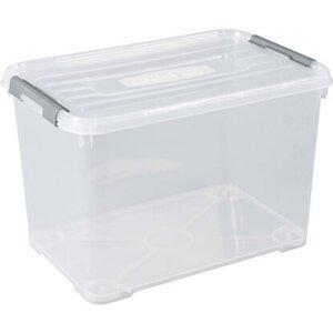 Best Freizeitmöbel Aufbewahrungsboxen Curver Handy+ 3-er Set Transparent 65 l