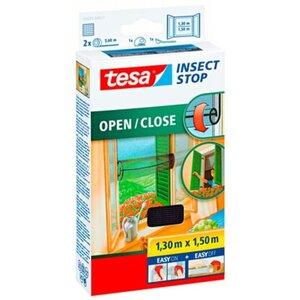 Tesa Fliegengitter Fenster Öffnen und Schließen 150 cm x 130 cm