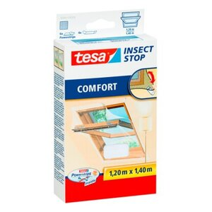 Tesa Fliegengitter Dachfenster weiß 140 cm x 120 cm