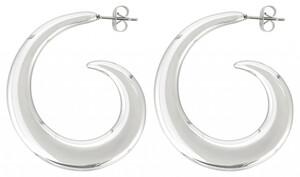 Edelstahl Ohrringe - Silver Whirl