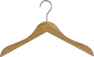 MAWA Kleiderbügel »Classic 45«, (Set, 10-tlg), aus Eschenholz, gewachst