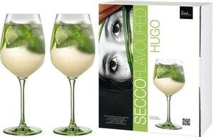 Eisch Weinglas »Secco Flavoured«, Kristallglas, (Hugo-Glas), bleifrei, 640 ml, 2-teilig