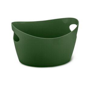 KOZIOL Aufbewahrungskorb »Bottichelli XS Utensilo Forest Green 450 ml«