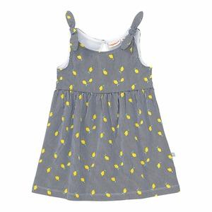 Baby-Mädchen-Kleid mit Zitronen