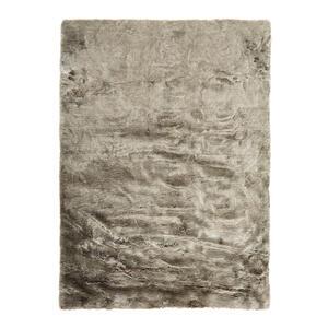 Novel Fellteppich 160/230 cm grau silberfarben  Kiruna