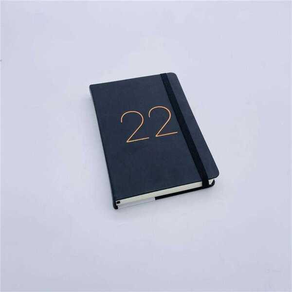 Buchkalender 2022, roségold
