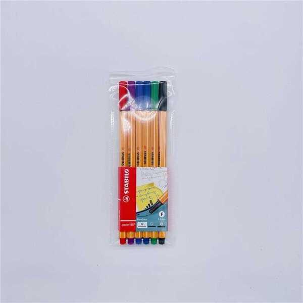Stabilo Fineliner, 0,4 mm, 6 Farben