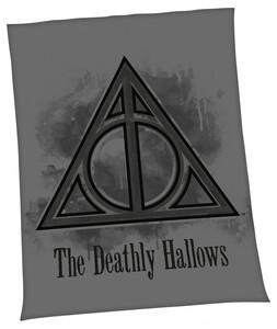 Lizenz Flanellfleece-Decke Harry Potter