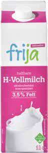 frija Laktosefreie fettarme H-Milch 1,5 % Fett