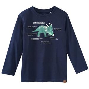 Kinder Langarmshirt mit Styracosaurus-Print