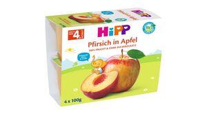 HiPP Beikost Fruchtbrei Pfirsich in Apfel