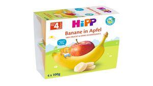 HiPP Beikost Fruchtbrei Banane in Apfel