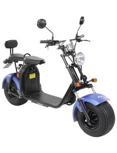 Elektroroller »Chopper Two«, max. 45 km/h, Reichweite: 35 km, blau/schwarz