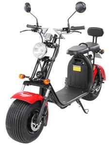 E-Scooter »Freeride X2«, max. 45 km/h, Reichweite: 35 km, weiß/blau