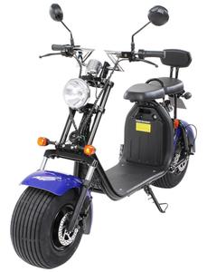 E-Scooter »Chopper Two«, max. 45 km/h, Reichweite: 35 km, weiß