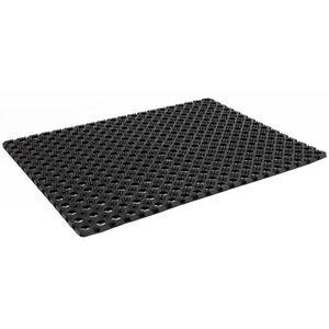 Gummi-Fußmatte 80x60cm Schwarz