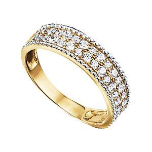 Jacques Lemans Ring 375/- Gold