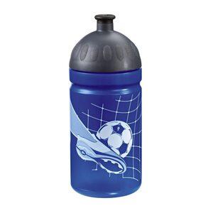 Step by Step Trinkflasche Fassungsvermögen 0,5 l, Soccer Team Fußball Blau