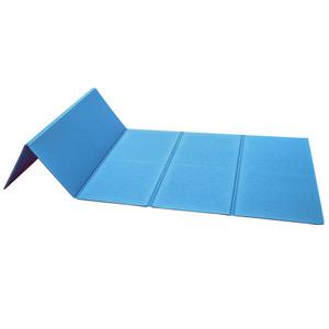 Topfit Fitness-Yoga-Faltmatte - Blau