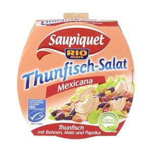 Saupiquet Thunfisch-Filets oder MSC Salate versch. Sorten, jede Packung/160/185/130 g Abtropfgewicht