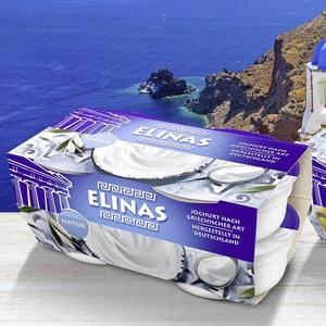 Elinas Joghurt nach Griechischer Art versch. Sorten, jede 4 x 150 g = 600-g-Packung