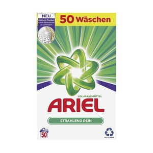 Ariel Waschmittel Pulver/Flüssig 50 Waschladungen oder All-in-1 Pods 38 Waschladungen, versch. Sorten, jede Packung