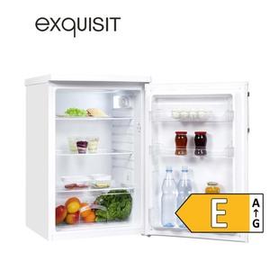 Vollraum-Kühlschrank KS 16-V-040E • 127 Liter Nutzinhalt • Maße: H 85,5 x B 55,0 x T 57,0 cm • Energie-Effizienz E (Spektrum: A bis G) nach  neuer Verordnung