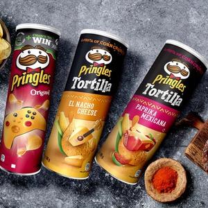 Pringles oder Tortilla-Chips versch. Sorten, jede 200/180-g-Dose