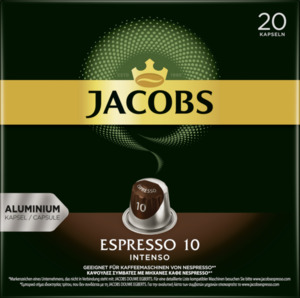 Jacobs Kapseln Espresso 10 Intenso