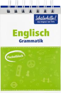 IDEENWELT Schülerhilfe Pocketblock Englisch Grammatik