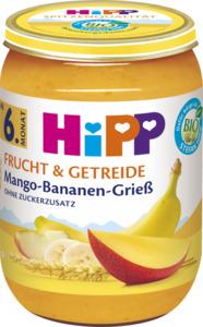 HiPP Bio Frucht & Getreide Mango-Bananen-Grieß