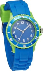 IDEENWELT Kinderarmbanduhr blau grün
