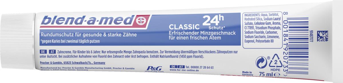 Bild 2 von Blend-a-med Zahnpasta classic