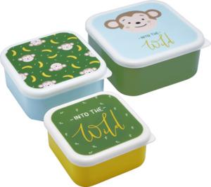 IDEENWELT 3er-Set Snackboxen