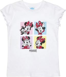 IDEENWELT Disney Mickey an Friends Shirt, Minnie Mouse Gr. 110/116