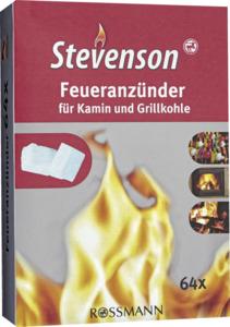 Stevenson Stevenson Feueranzünder 64 Stück