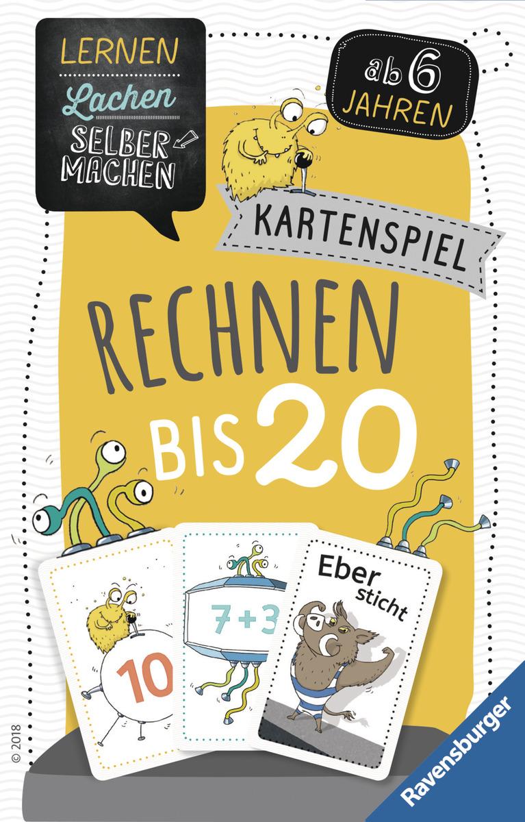 Bild 1 von Ravensburger 80349 Lernen Lachen Selbermachen - Kartenspiel