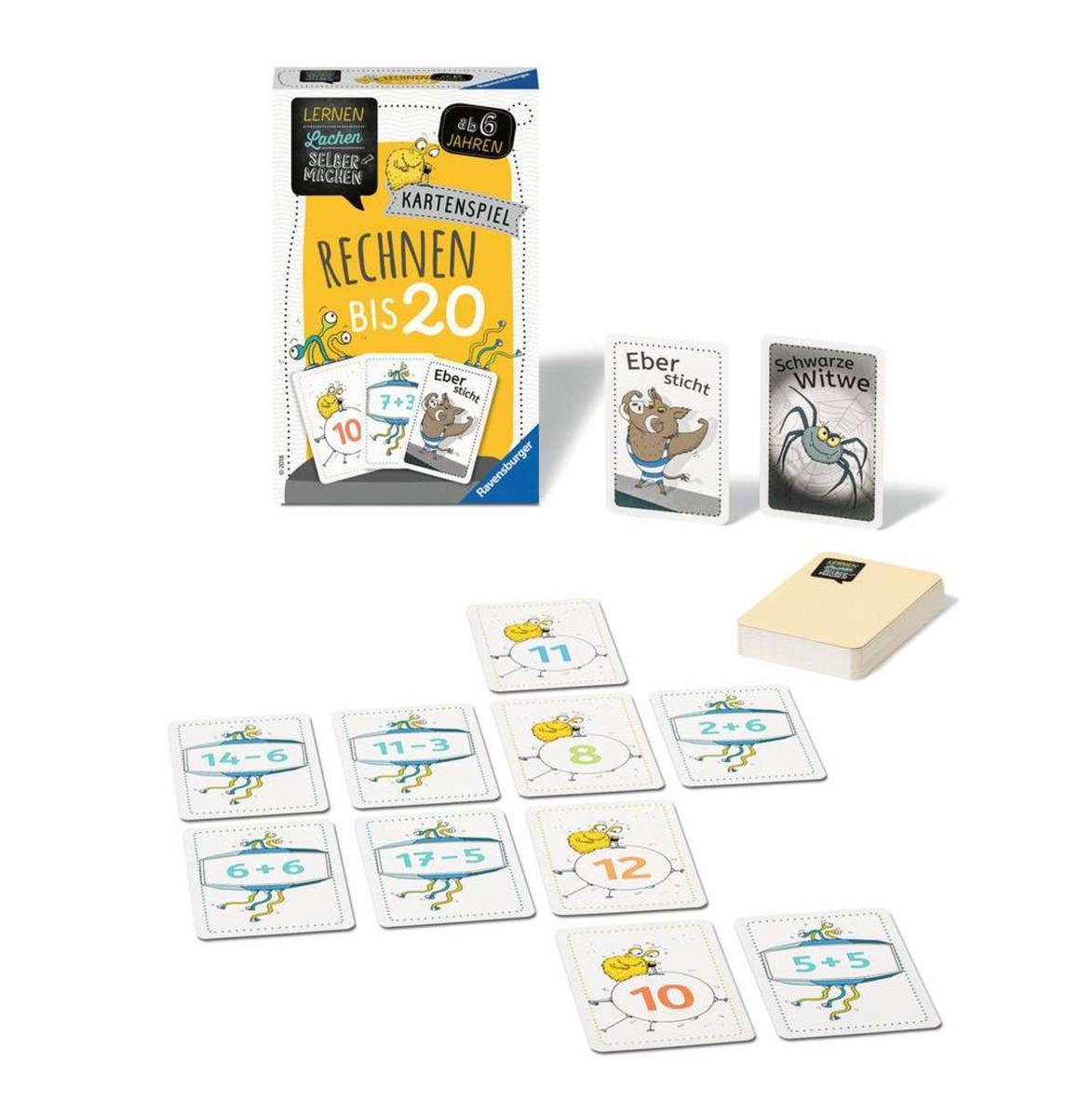 Bild 3 von Ravensburger 80349 Lernen Lachen Selbermachen - Kartenspiel