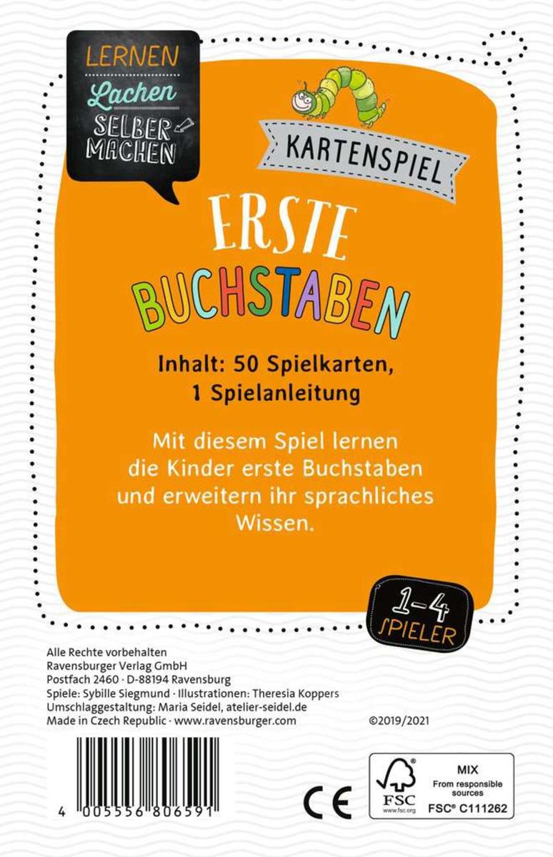Bild 2 von Ravensburger 80659 Lernen Lachen Selbermachen - Kartenspiel