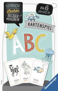 Ravensburger 80347 Lernen Lachen Selbermachen ABC - Kartenspiel