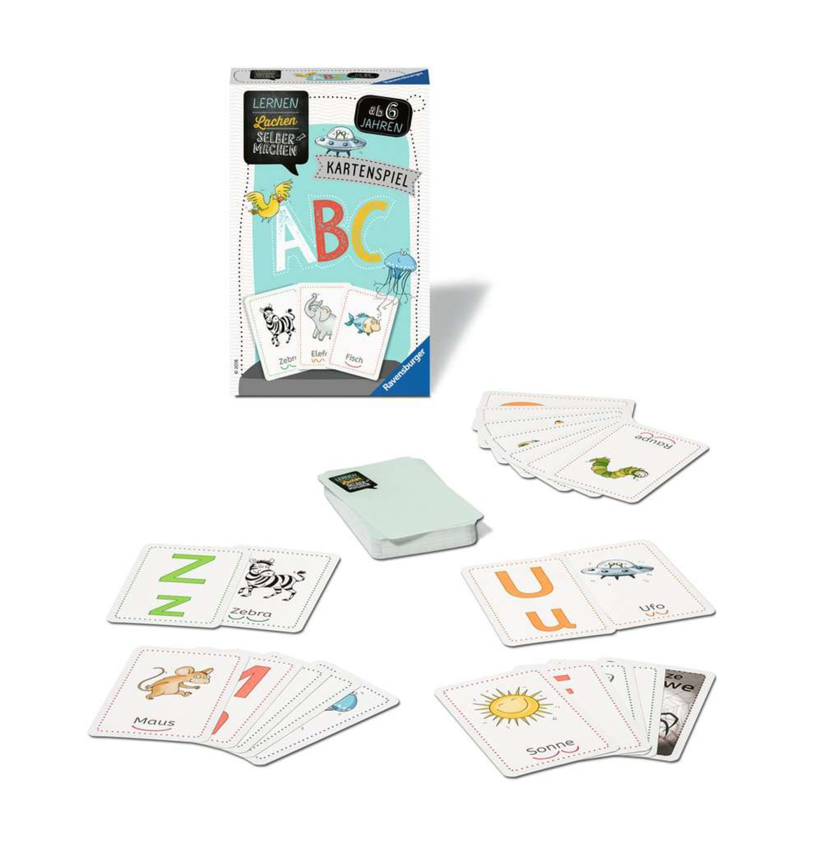 Bild 3 von Ravensburger 80347 Lernen Lachen Selbermachen ABC - Kartenspiel