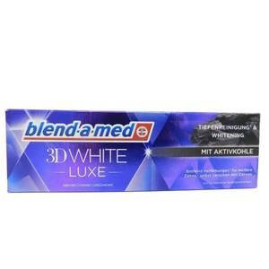 blend-a-med Zahncreme 3D White Luxe Aktivkohle