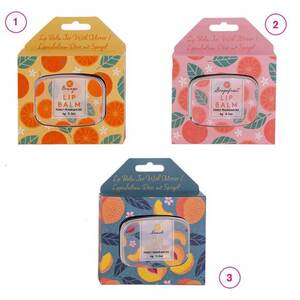 Lippenbalsam mit Geschenkbox in verschiedenen Varianten