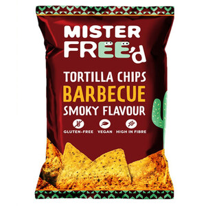 Mister Freed Chips Tortilla Vegan Barbecue 135 g