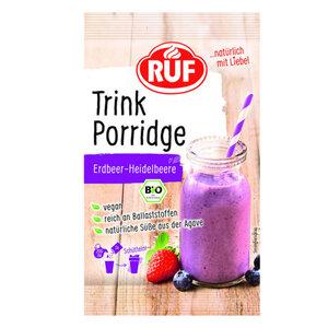 RUF Bio Trink Porridge Erdbeer-Heidelbeer 50 g