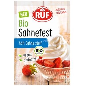 RUF Sahnefest Bio 4x 8 g