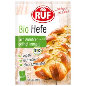 RUF Hefe Bio 3x 9 g Beutel