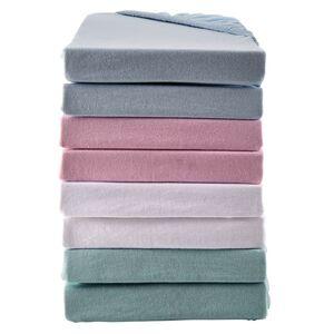 DORMIA Jersey-Spannbetttücher für Kinderbetten, 2er Packung