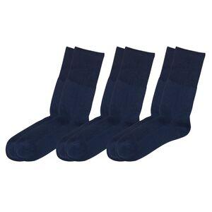 Venenfreundliche Damen und Herren Socken, 3er-Packung