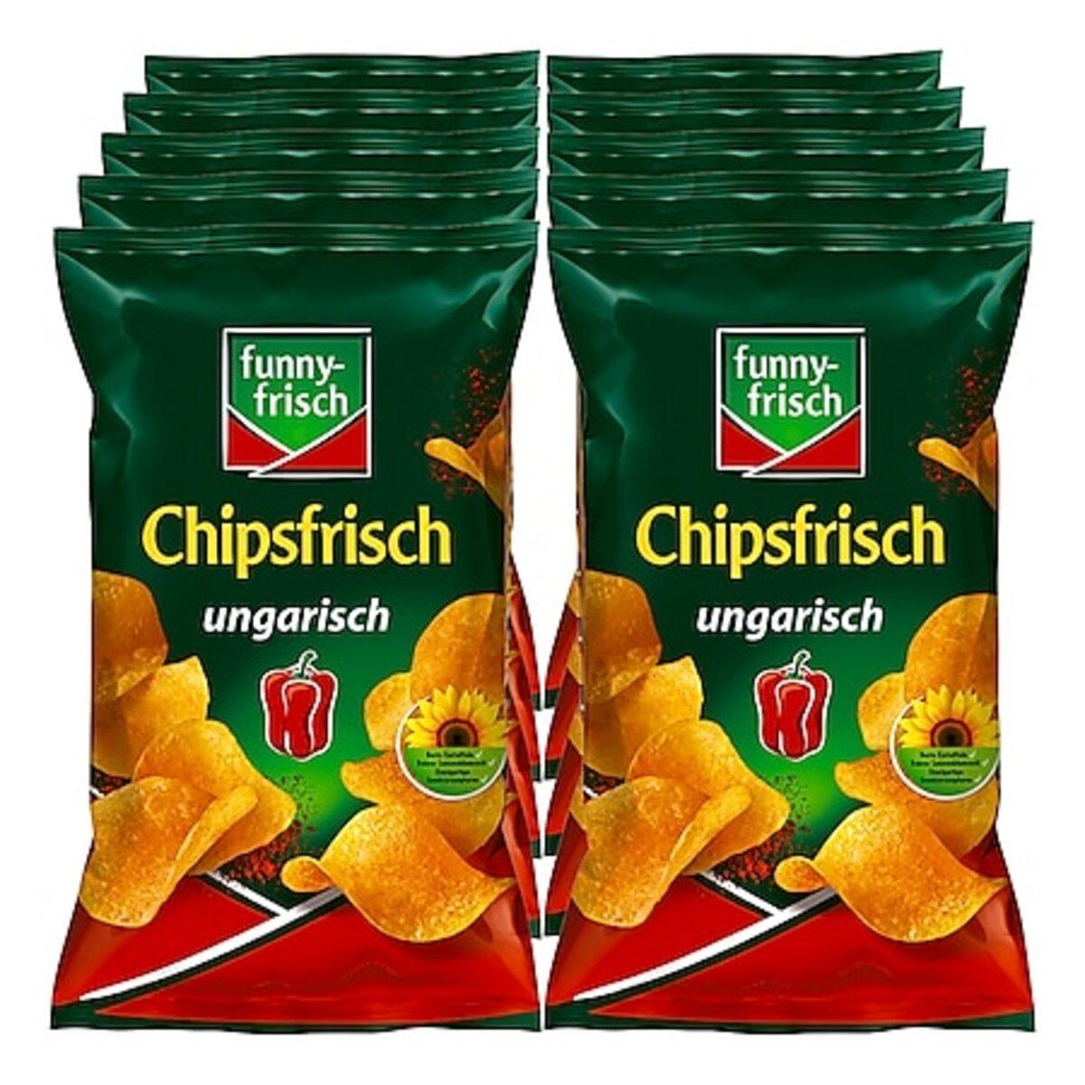 Bild 1 von Funny Frisch Chipsfrisch ungarisch 175 g, 10er Pack